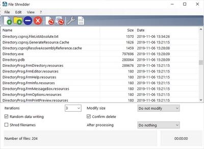 حذف کامل و غیر قابل بازیابی اطلاعات هارد