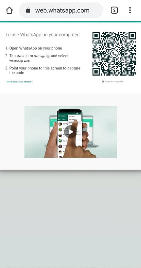 چگونه به صورت همزمان از یک اکانت واتساپ در دوگوشی استفاده نماییم؟