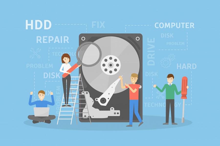 بدسکتوری هارد دیسک